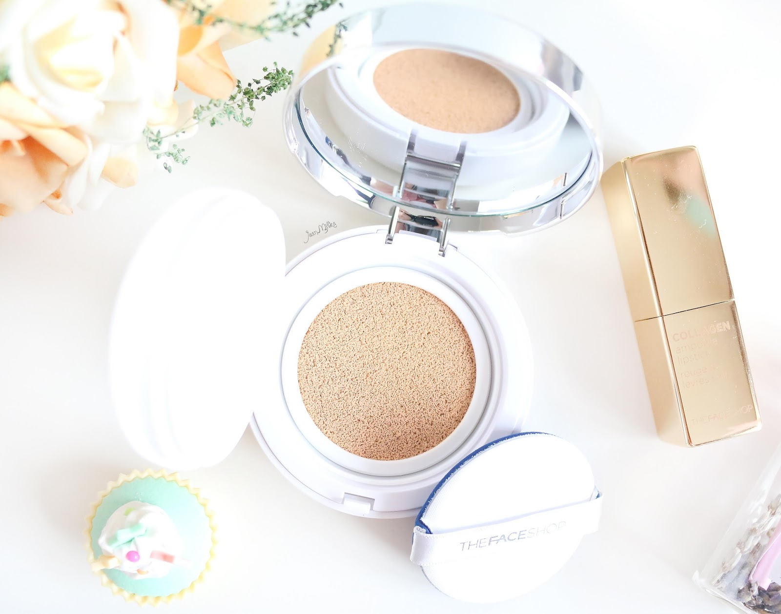 the face shop, the face shop cushion, the face shop cc cushion, cc cushion, cushion, cc cushion ultra moist, cc cushion intense cover, tfs, review, review cushion, beauty blog