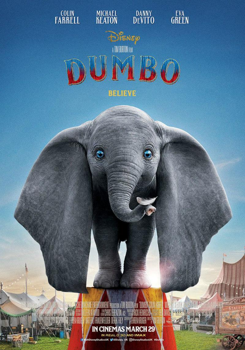 dumbo 2019 poster