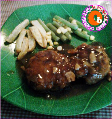 Cara membuat Steak Tempe