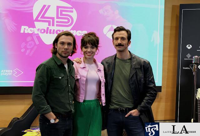 Carlos Cuevas, Guiomar Castro, Ivan Marcos en '45 Revoluciones'