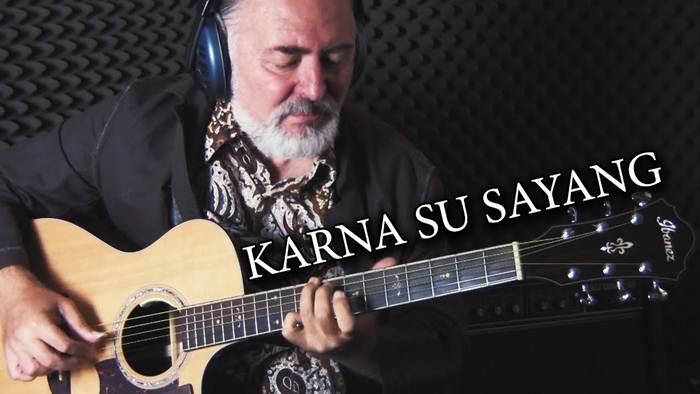 Keren, Lagu Karna Su Sayang Di Cover Gitaris Rusia Igor Presnyakov