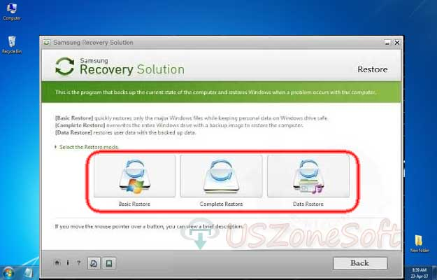 Samsung Recovery Solution Free Download For Windows 10,8,7