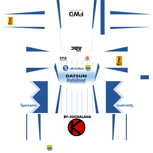 81979ea35f8 Persib Bandung Kits 2016/2017 - Dream League Soccer - Kuchalana