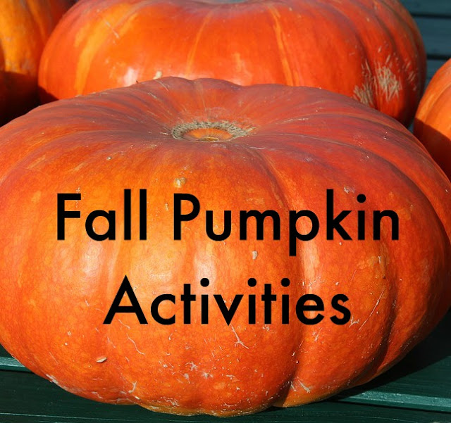 Fall Pumpkin Activities