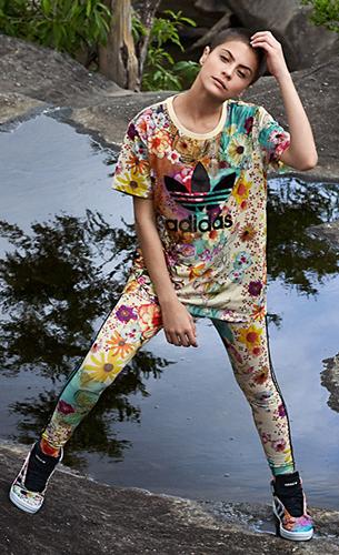 diseño de variedad descuento mejor valorado Tienda conjunto adidas mujer flores