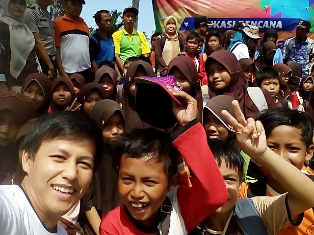 Kak Ojan & BNPB Edukasi Bencana di Ujung Kulon