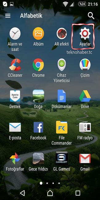 Android Cihazlarda Büyüteç