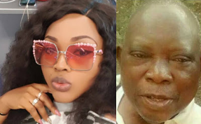 mercy aigbe abandon father to die