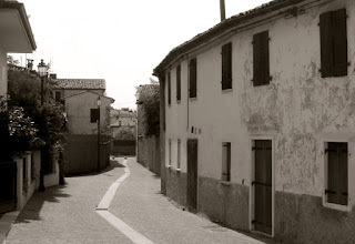 The neighbourhood of Cal Santa in Pieve di Solito, where Zanzotto lived for many years in his childhood