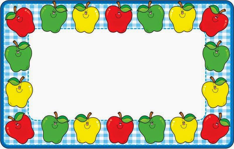 Marcos con Verduras y Frutas para Imprimir Gratis. | Ideas y ...