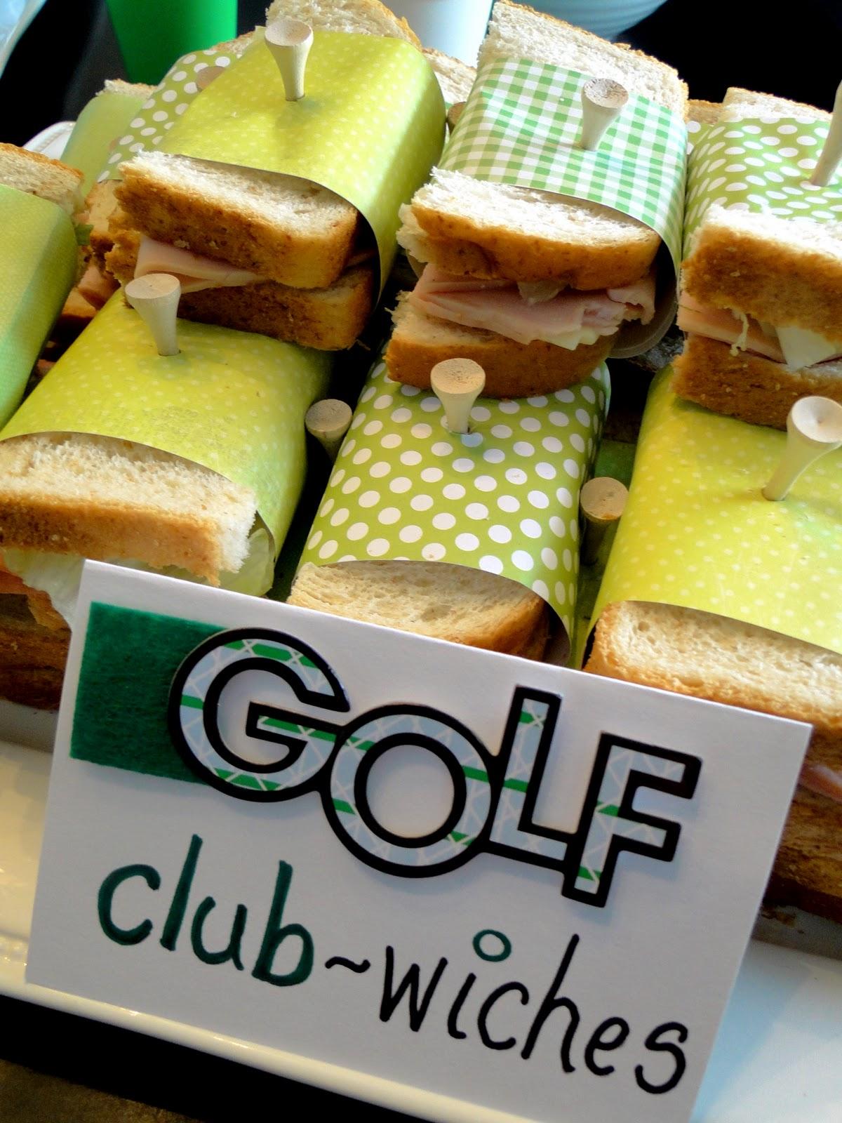 The journey of parenthood golf party decor - Plaque decorative cuisine ...