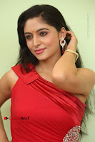 Actress Zahida Sam Latest Stills in Red Long Dress at Badragiri Movie Opening .COM 0067.JPG