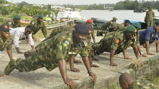 NIGERIAN TROOPS AMBUSHED, CAPTAIN BRUTALLY INJURED