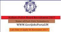 Kolkata Police Board Recruitment 2017– 1100 Civic Volunteers