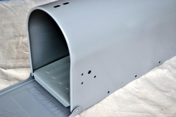 New Gray Mailbox