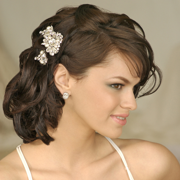 Medium Wedding Hairstyles: Short Hairstyles For Weddings