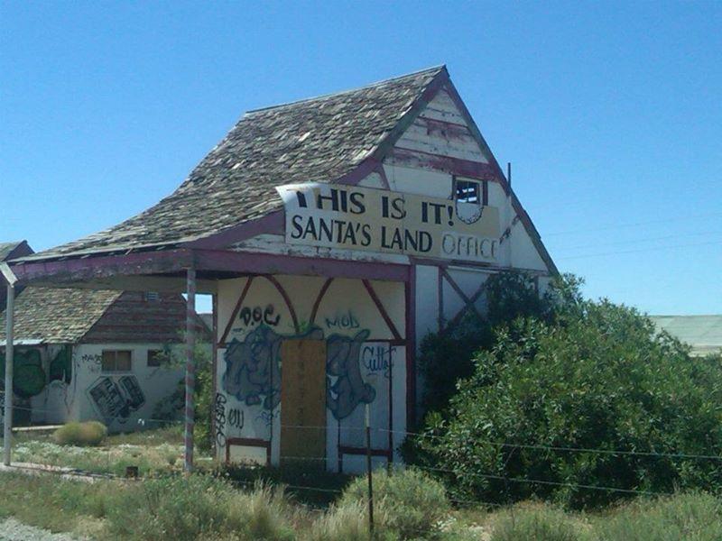 Ghost Town Tuesday Santa Claus Az Santa Literally For Sale - Us-93-arizona-map