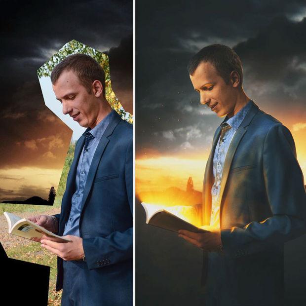 Artista ruso crea fascinantes composiciones en photoshop