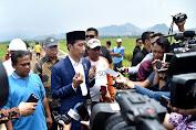 Presiden Jokowi Tinjau Padat Karya Tunai di Cirebon