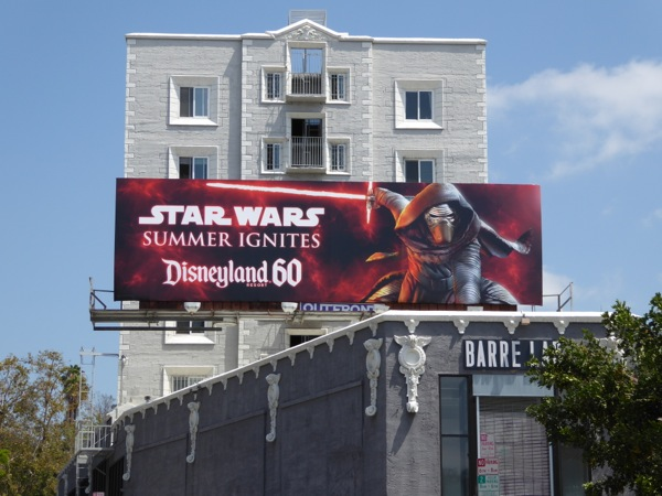 Star Wars Summer Ignites Disneyland 60 billboard