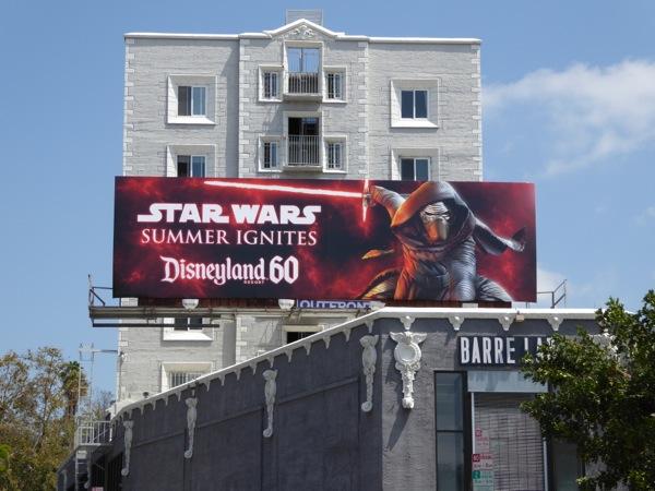 Star Wars Summer Ignites Disneyland 60 billboard