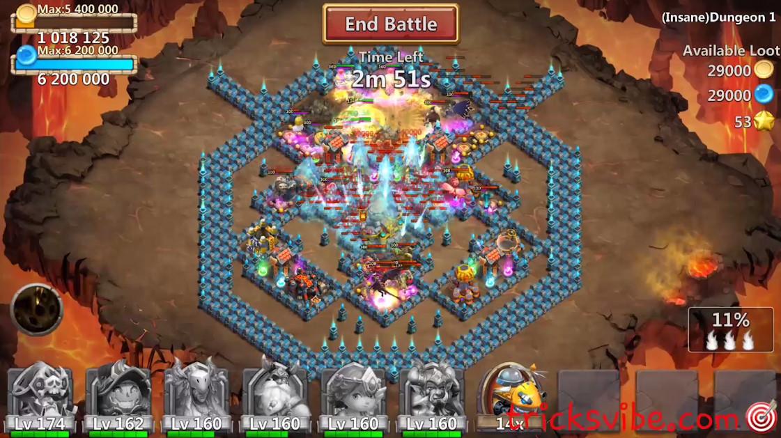 download castle clash hack apk android