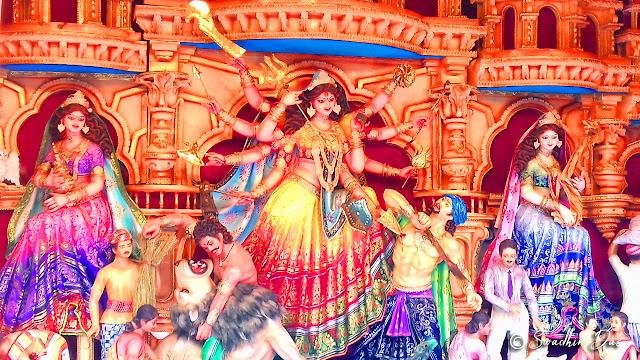 Durga Puja 2018 Muhammad Ali Park Durga Idol