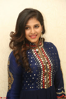 Anjali looks super cute at Chitrangada Pre Release Function March 2017 029.JPG
