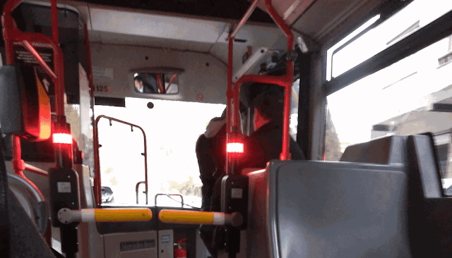 tornello chiuso autobus atac