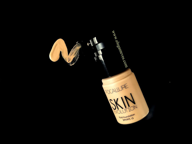 Focallure Skin Evolution Fluid Foundation, 04 Natural, Review Swatches