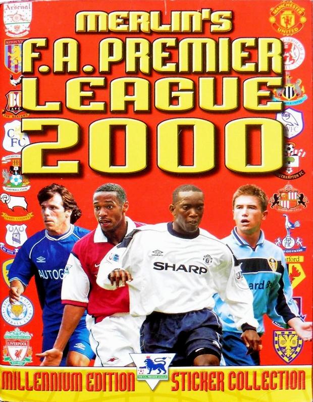 Football cartophilic info exchange merlin premier for Premier league table 99 2000