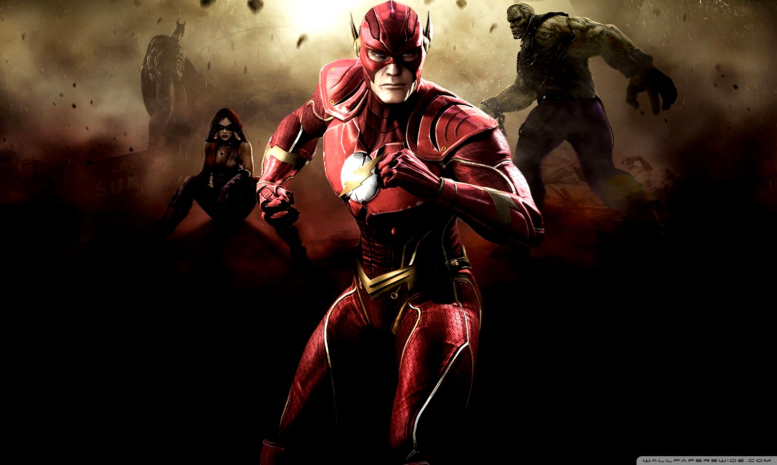 Injustice Gods Among Us The Flash Artwork Wallpapers Wallpapers