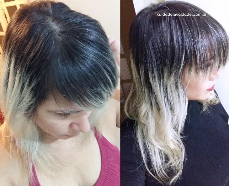 Antes e depois Força com Pimenta