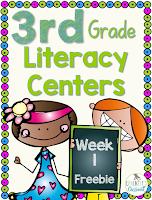 3rd-Grade Week 1 Centers