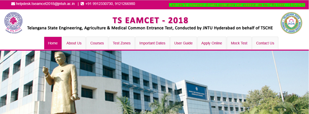 AP Eamcet Hall Tickets 2019