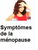 Symptômes de la ménopause et l'age