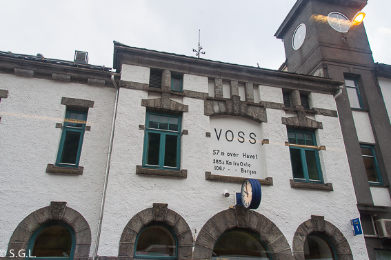 Estacion de Voss. El tren de Flam y la excursion Norway in a nutshell