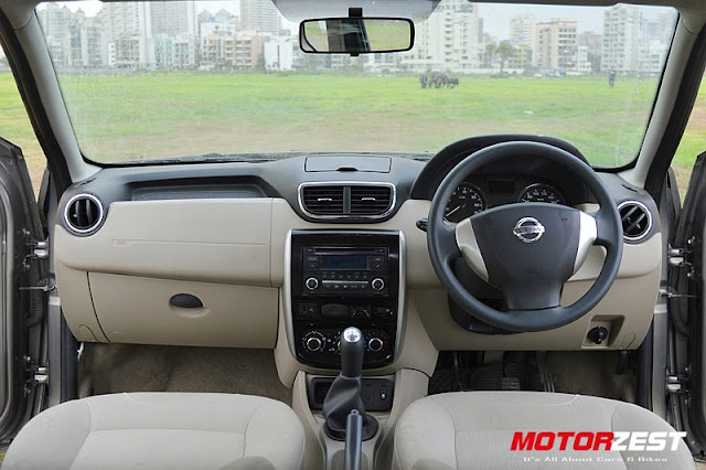 Nissan Terrano Diesel Review Interior