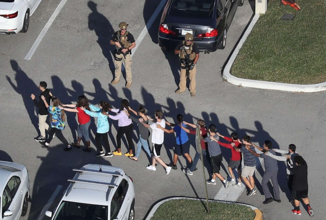 As bullets flew at school, one student kept the world updated on Twitter