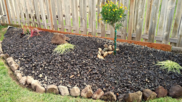 landscaping with berms and mounds