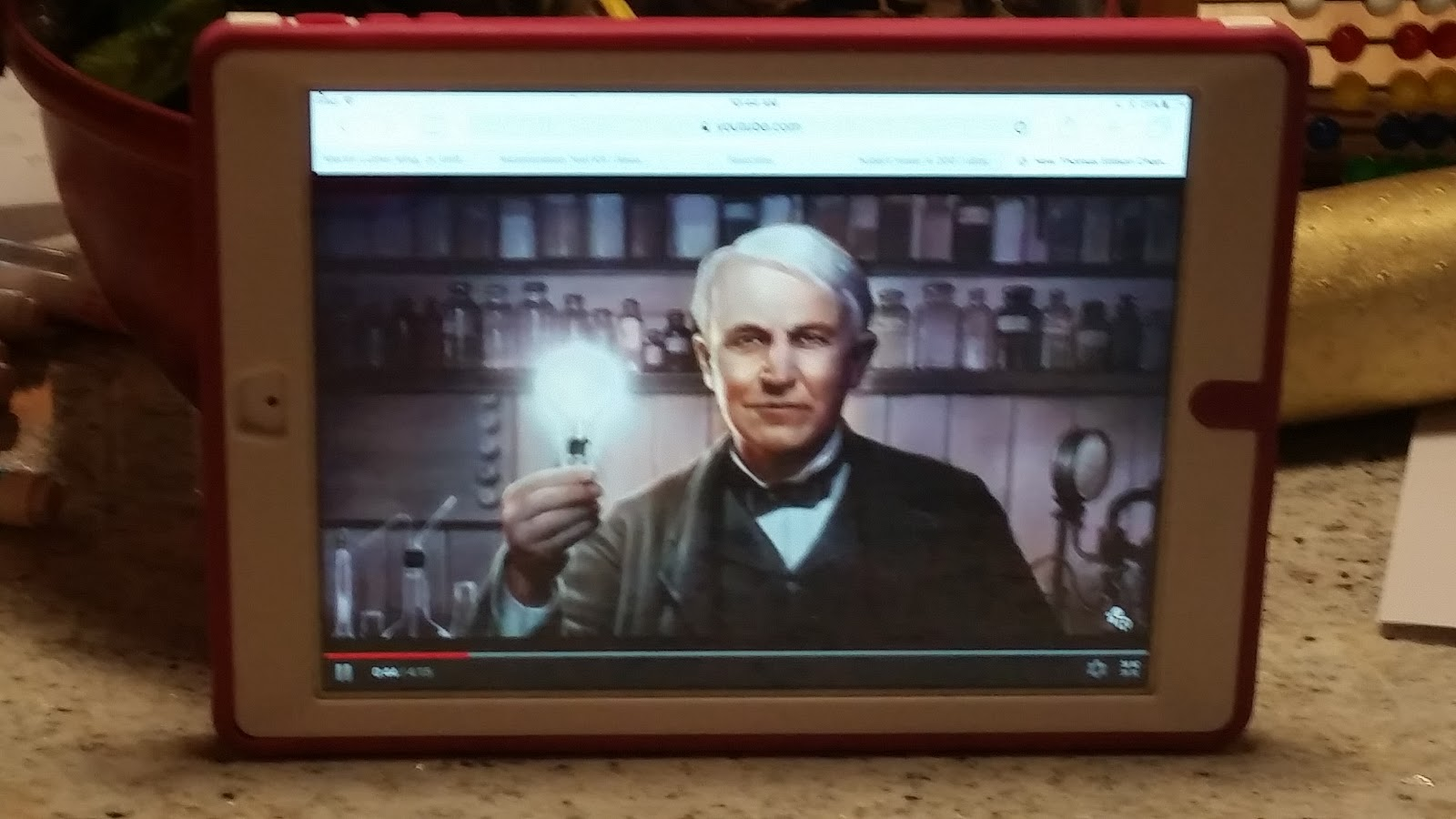 Love Life Laugh Learn Thomas A Edison Young Inventor