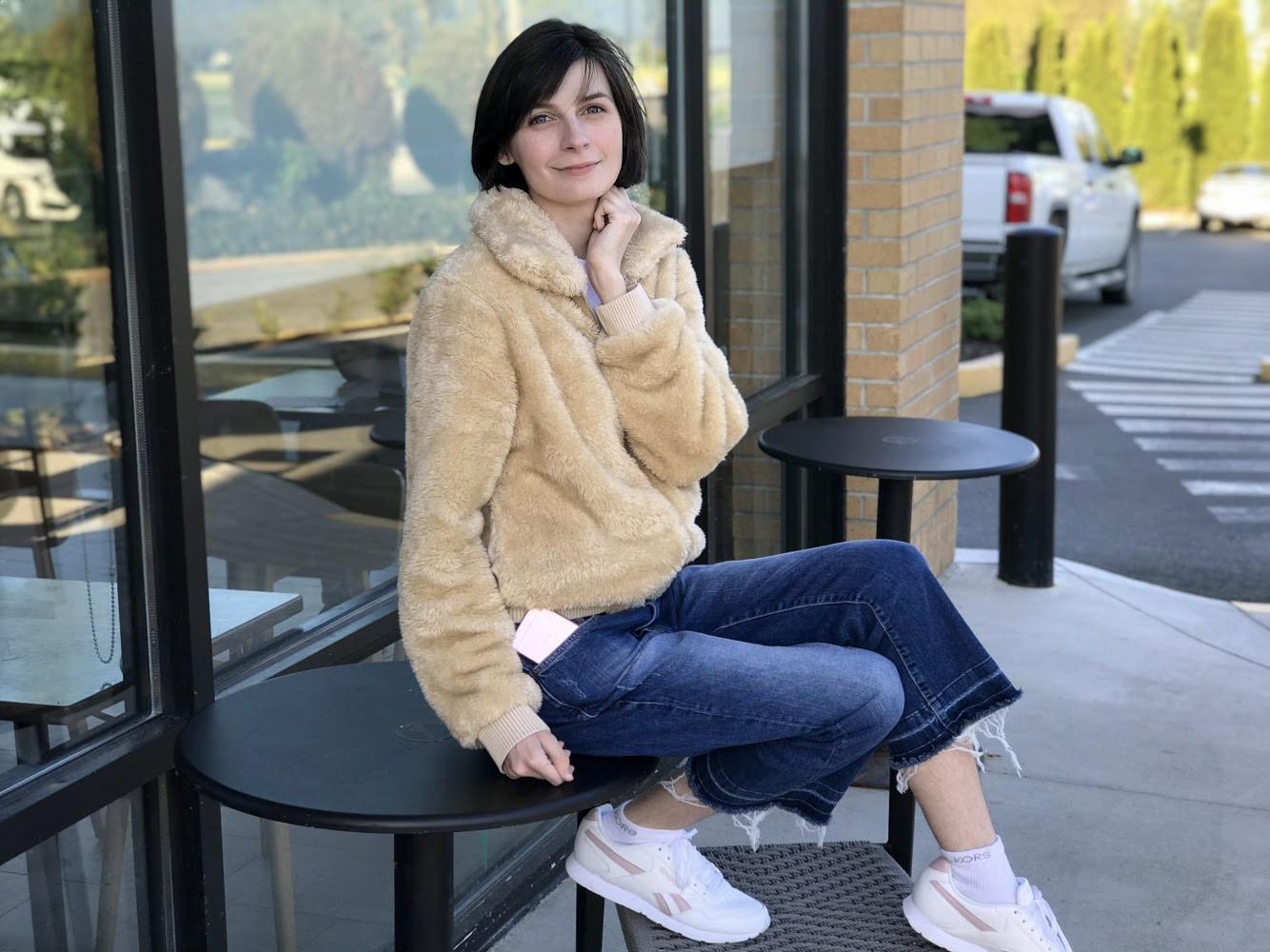 A Perfect Teddy Coat | May 5 Lookbook | Jackie O My