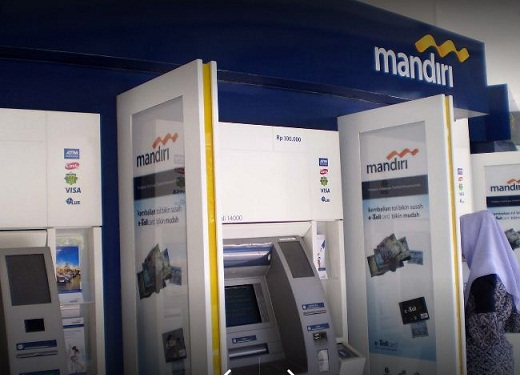 Lokasi ATM Bank Mandiri Setoran Tunai Yogyakarta