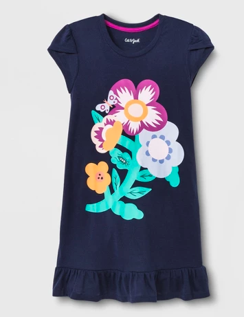 Cat & Jack Flower Nightgown