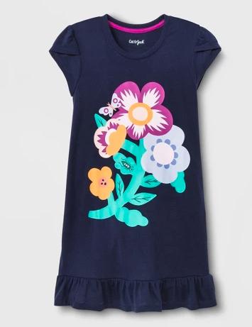 Cat & Jack Flower Nightgown