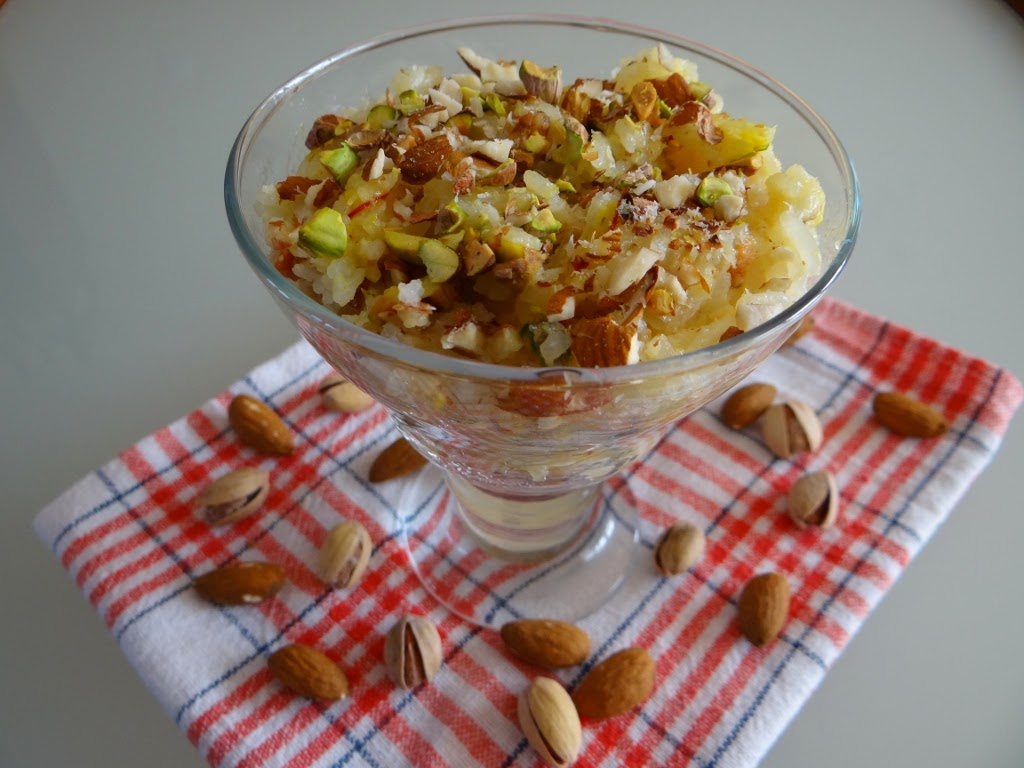 Słodki pudding indyjski