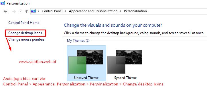 windows 7 change icon spacing