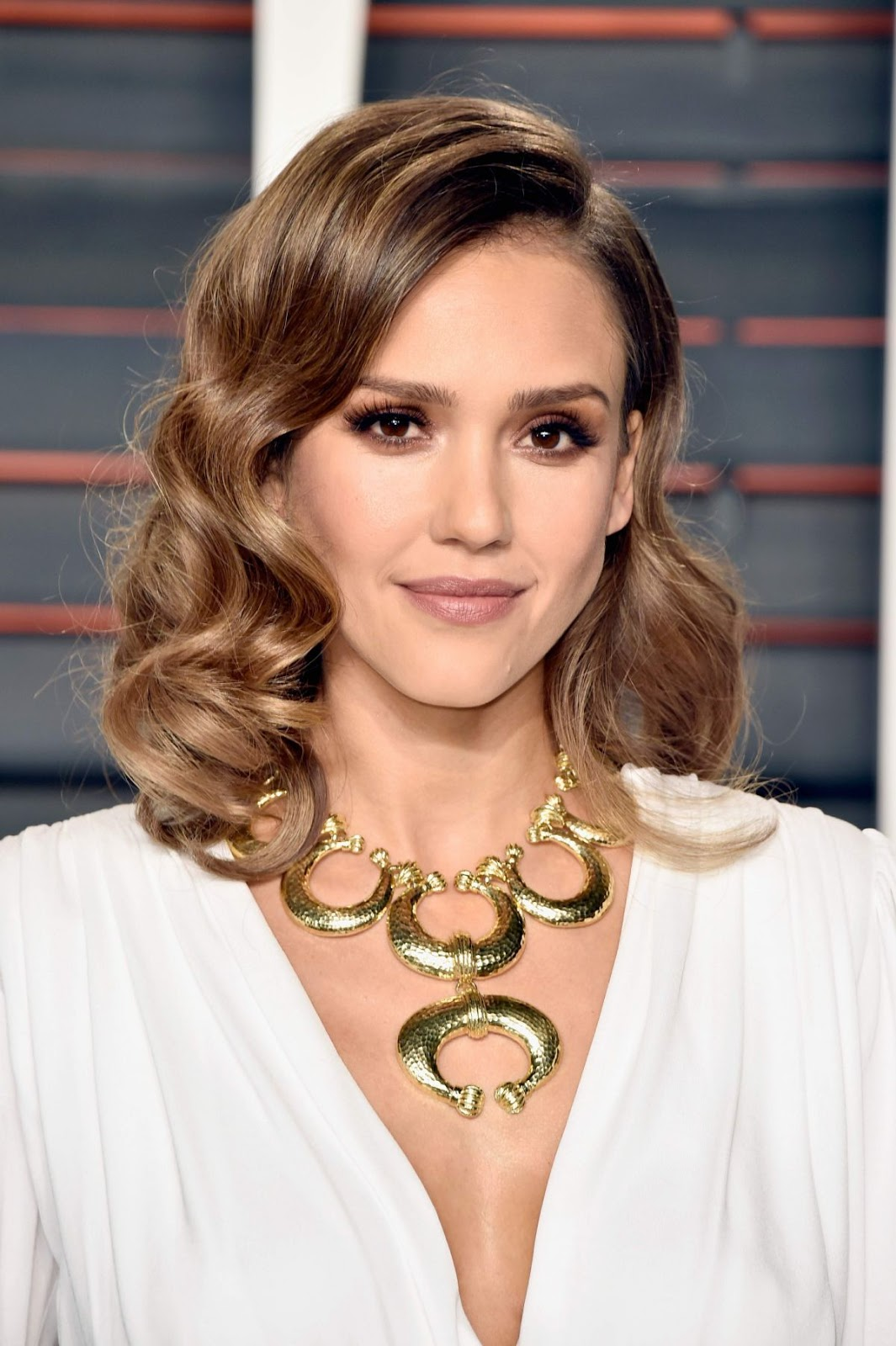 Jessica Alba at Vanity Fair Oscar 2016 party in Beverly Hills