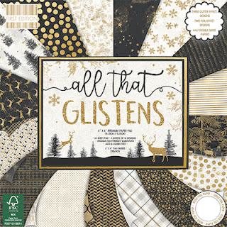 All that Glistens 12 x 12 paper pad