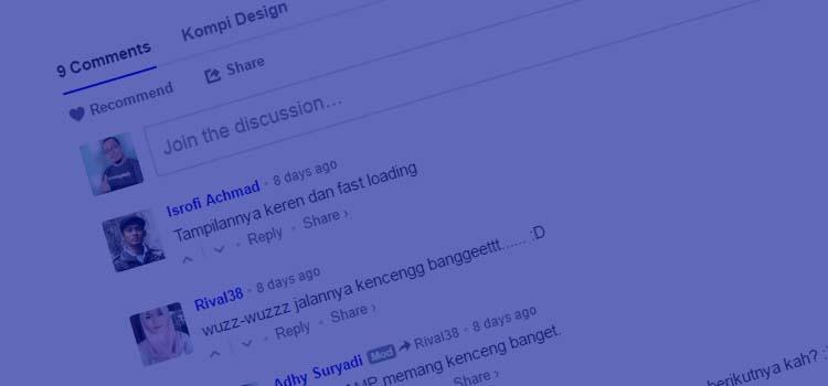 Mengatur Warna Link Disqus Pada Blog AMP